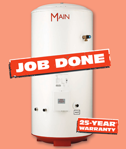 Main Unvented Cylinder